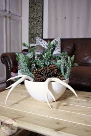 White Christmas Centerpieces - coffee table christmas centerpiece coffee table