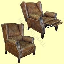 enchanting reclining wingback chair black wingback recliner chair