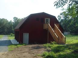 Gambrel Roof Barn 3 Car Pole Garage With Gambrel Roof Customer Projects September
