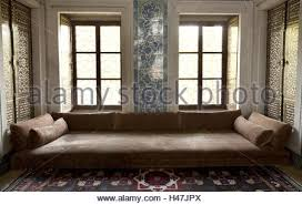 turkey istanbul topkapi palace sofa kiosk stock photo royalty