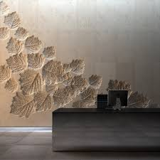 wall texture design use reverse mould in a poured concrete wall interior and exterior
