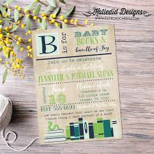 Library Card Invitation Baby Shower Bring A Book Baby Shower Invitation Bookworm Shabby Chic Sprinkle
