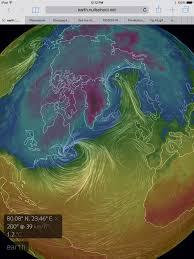 Jet Stream Forecast Map Mangled Jet Stream Global Warming Atlantic Water U003d Boston