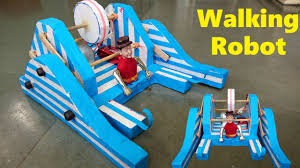 how to make a walking robot at home easy way places to visit how to make a walking robot at home easy way