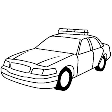 police car for highway patrol coloring page police car for