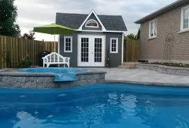 modern and classic pool cabana kits get yours today