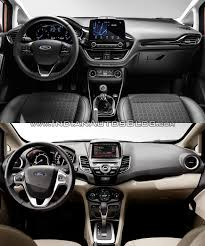 old lexus interior 2017 ford fiesta vs 2013 ford fiesta old vs new