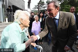 Comfort Women Japan Germany U0027s Former Chancellor Visits U0027comfort Women U0027 Reminds Japan