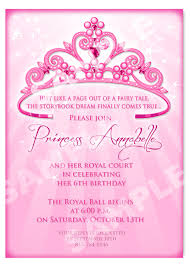 princess birthday party invitations princess birthday party