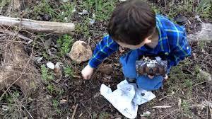 kid finds treasure in backyard youtube