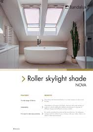 skylight blinds bandalux industrial sa pdf catalogues