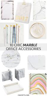 Marble Desk Accessories Marble Office Accessories Png