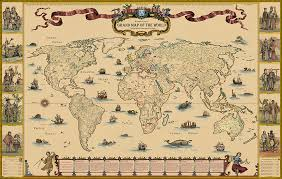 grand map brit products grand map of the world from wellingtons travel