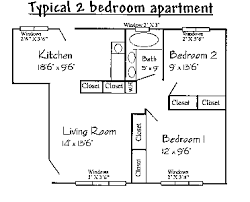 Typical Floor Plans Of Apartments Floor Plans Residence Life Montana Tech