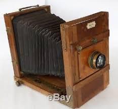 chambre photographique chambre photographique 13x18 objectif bausch lomb zeiss tessar