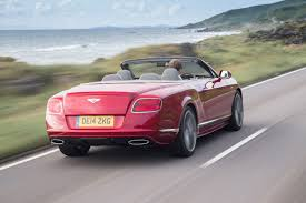 bentley convertible red bentley continental gtc speed convertible pictures bentley