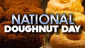 friday is national doughnut day mmmm doughnuts