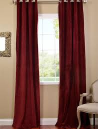 Wine Colored Curtains Great Burgundy Color Curtains Decor With Color Contemporary Sheer