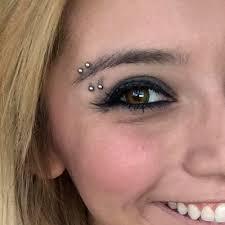 Eyebrow Piercing Without Jewelry Kirstin Maldonado S Piercings Jewelry Style