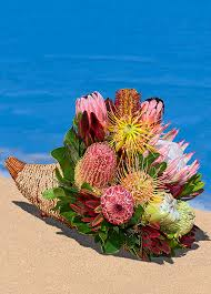 with our aloha hawaiian flowers brighten any thanksgiving table