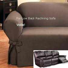Reclining Sofa Slipcover Recliner Sofa Covers Medium Size Of Styles Leather Sofa Covers