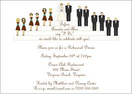 Sample Of Wedding Program Sample Rehearsal Dinner Invitations U2013 Gangcraft Net