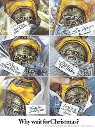 chivas regal scotch advertisement gallery