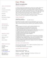Receptionist Resumes Samples by Receptionist Resume Create My Resume Best Receptionist Resume