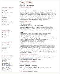 receptionist resume medical receptionist resume sample medical
