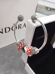 bangle bracelet pandora images New pandora open bangle bracelet for pink girl JPG