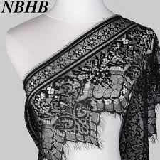 wide lace ribbon nbhb 3 2 yards black white 25cm wide lace trim sewing accessories