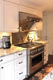 Cabinet Hardware Kitchen by Cosmas Cabinet Hardware With Dark Stained Wood Floor Stainless
