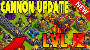 clash of clans clash of clans lvl 13 cannon update 2015 mini games daily