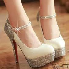 wedding shoes glitter bridal shoes low heel 2015 flats wedges pics in pakistan mid heel