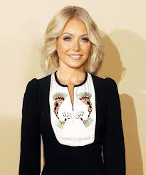 kelly ripa s wave hairstle kelly ripa still fits into her 199 wedding dress 20 years later