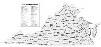 Virginia County Maps by File Map Of Virginia Counties And Independent Cities Svg