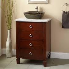 24 Bathroom Vanity 24 Bathroom Vanity With Vessel Sink Contemporary Bathroom Vanities