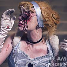 zombie cinderella tutorial mykie on twitter when your fake lashes keeps stabbing you in the