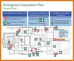 emergency evacuation floor plan template 8 fire emergency planning apa date format