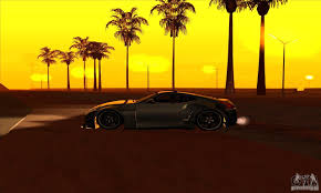 nissan 370z yellow edition nissan 370z drift edition for gta san andreas