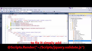 layout page null mvc fix error unable to set property unobtrusive of undefined