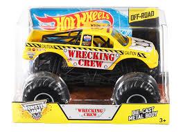 wheels monster truck jam amazon com wheels monster jam wrecking crew die cast vehicle 1