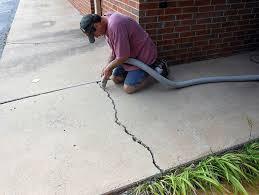 Repair Concrete Patio Cracks How To Repair Concrete Patio Cracks Home Design Ideas