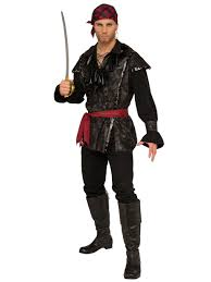 plundering pirate costume for men wholesale halloween costumes
