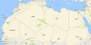 africa map senegal travelling through africa