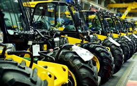 jcb celebrates 40 years of loadall farm machinery