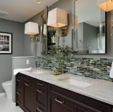 backsplash ideas for bathrooms interior where to stop tile backsplash vanity backsplash height