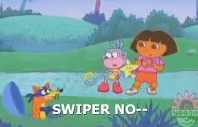 Swiper The Fox Meme - swiper no swiping gifs get the best gif on giphy