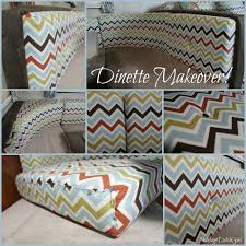 Covering A Seat Cushion Vintage Dutch Travel Trailer Makeover Part 6 New Dinette