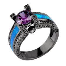 black opal mens ring search on aliexpress com by image